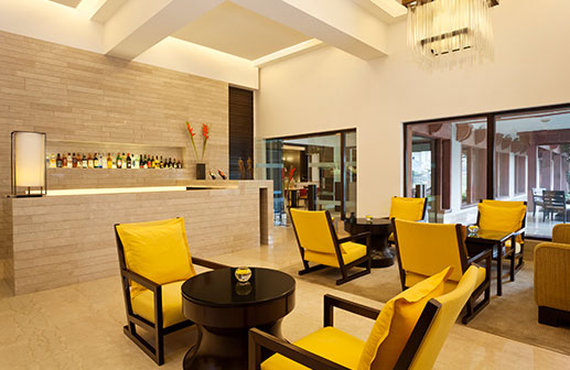 The Bar at Trident Five Star Hotels in Agra