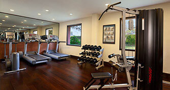Gym facility in Agra