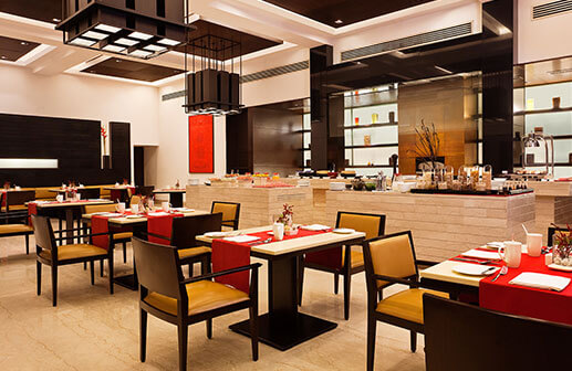 Restaurant in Agra - Trident Hotels