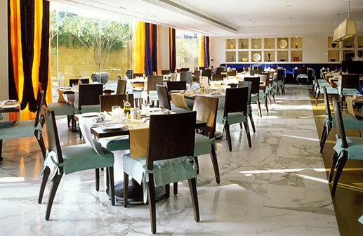 Frangipani Restaurant in Mumbai - Trident Hotels