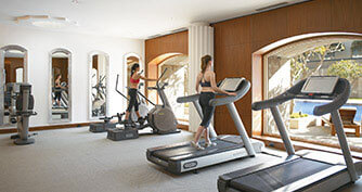 Gym at Trident Luxury Hotels in Gurgaon