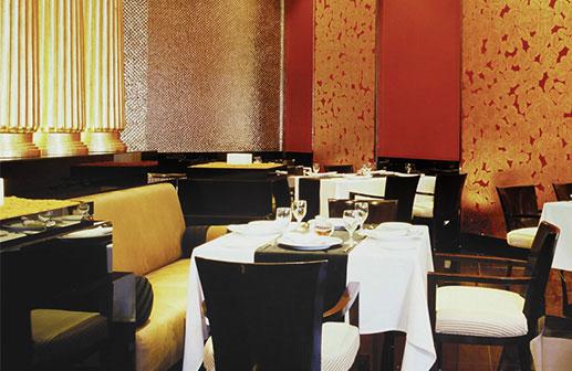Saffron Restaurant - Trident Hotel Gurgaon