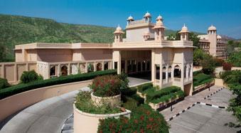 Trident Five Star Hotel in Jaipur