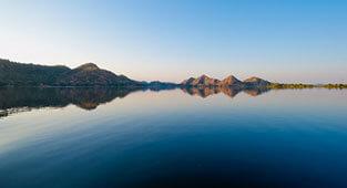 Jaisamad Lake in Udaipur