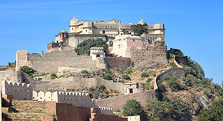 Kumbalgarh Fort in Udaipur