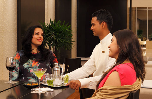 Ninety Six Bar - Trident Luxury Hotel in Hyderabad