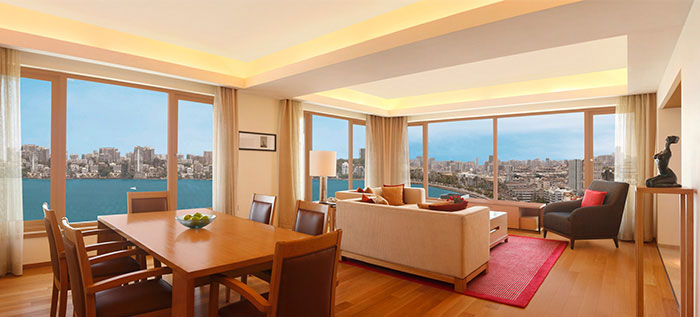 Luxury hotel rooms and suites in mumbai nariman point for Special hotels