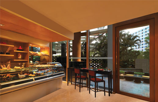 Patisserie and Delicatessen Restaurant at Trident Hotel