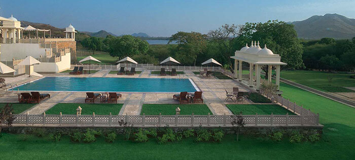 Trident Luxury Hotel in Udaipur