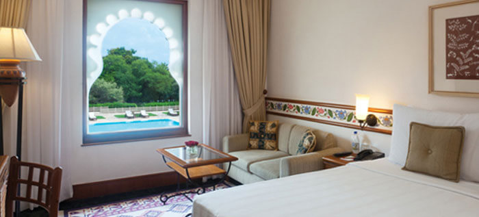 Deluxe Garden View Rooms at Trident Udaipur