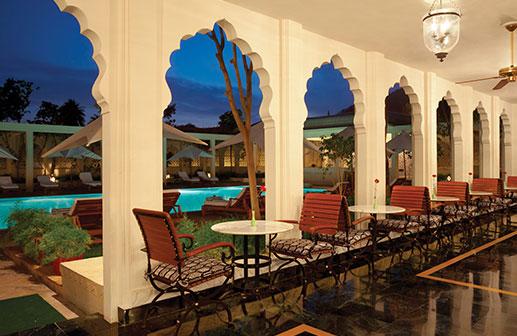 Trident Jaipur, The Verandah